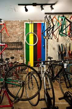 Love a great bike shop. (from Urban Velo)