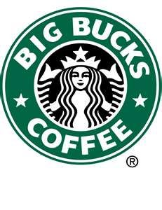 "Summary: This is a photo shopped picture of the starbucks logo that i found online.  Caption: This logo relates to the article ""Political Culture Jamming."" Starbucks is now one of the largest chains and the US and is also ridiculously expensive. They have successfully created a need for fancy dessert type coffees and they jack up the prices.-Joseph Traini"