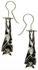 Ruth Waterhouse Bat Earrings Bats In The Belfry 2018 Pinterest Jewelry And Gothic