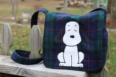 Old School Snoopy by StayingInStitches on Etsy
