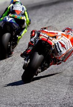 Valentino Rossi Vs Marc Marquez.