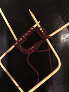 New Needles/Method for Knitting in the Round