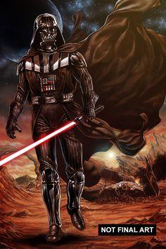 Star Wars - Darth Vader by Mark Brooks *