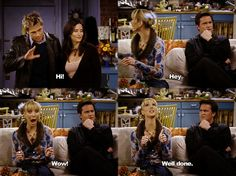 HAHA Brad Pitt on friends. seriously the best episode of them all Serie Friends, Friends Moments, Friends Show, Friends Forever, Friends Scenes, Friends Episodes, Friends Cast, Best Tv Shows, Best Shows Ever