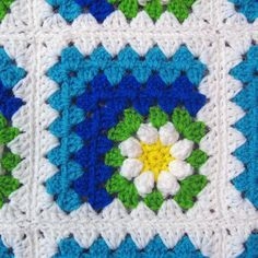 PDF Pattern Crocheted Baby Afghan Mitered by thejewellshandmades