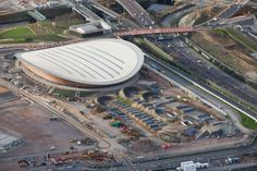 Velodrome for cycling Olympics 2012