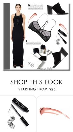 """DRKSHDW"" by edita-n ❤ liked on Polyvore featuring H&M and Bobbi Brown Cosmetics"
