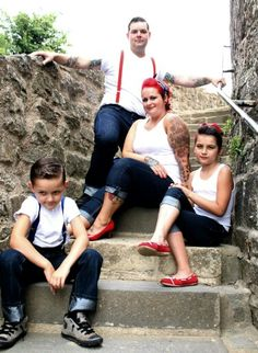 Rockabilly Family Pictures