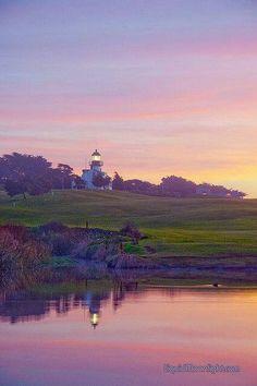 Point Pinos Lighthouse Monterey California