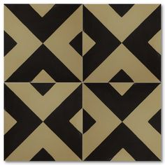 Versatile Tile: Handmade Cement Tile.