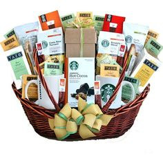 tea gift baskets | ... and Tazo Gift Basket, Coffee and Tea Gift, Corporate Gift Idea