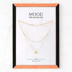 collar doble con colgante de estrella, oro  plata chapada en oro montaje