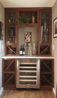 A wine lover's dream. #winestorage