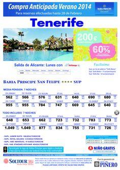 Tenerife, hasta 60% Compra Anticipada Bahía Príncipe San Felipe, salidas desde Alicante ultimo minuto - http://zocotours.com/tenerife-hasta-60-compra-anticipada-bahia-principe-san-felipe-salidas-desde-alicante-ultimo-minuto/