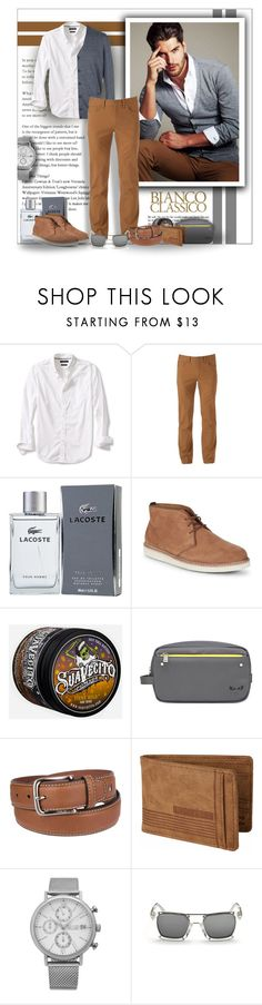 """""""Destination Menswear"""" by angelflair ❤ liked on Polyvore featuring Banana Republic, Urban Pipeline, Lacoste, Cole Haan, Fendi, Tommy Hilfiger, Billabong, SO & CO, Diesel and men's fashion"""