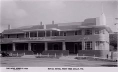 Shaun Kenaelly: The Royal Hotel, Upper Fern Tree Gully Melbourne Victoria, Victoria Australia, Back In The Day, Historical Photos, Ranges, Art World, Fern, The Good Place, Art Deco