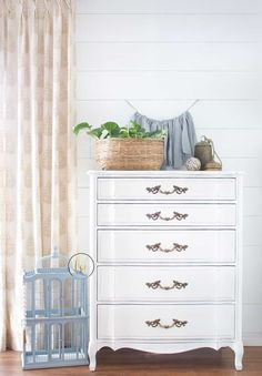 The home of shabby chic decor Shabby Chic Homes, Shabby Chic Style, Shabby Chic Decor, Farmhouse Furniture, Shabby Chic Furniture, Farmhouse Rugs, Funky Furniture, Painted Furniture, Dresser As Nightstand