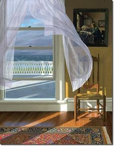 """Wind From the Sea"" by Edward Gordon ~ I can almost feel the breeze! <3"