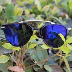 Zippy Half Round Unisex Sunglasses