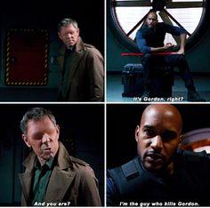 ''I'm the guy who kills Gordon.'' Oh, Mack :) / 2.22 : S.O.S.