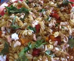 Capsicum, feta and walnut pasta salad | Made in your Thermomix | Get the recipe on Recipe Community |