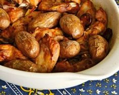 Receitas - Coelho Assado no Forno Fácil - Petiscos.com Portuguese Recipes, Portuguese Food, Sprouts, Beans, Potatoes, Vegetables, Snow Peas, Spices, Snacks
