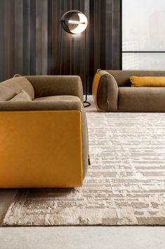 Meir - Customizable modern luxury sofa in leather House Furniture Design, Modular Furniture, Sofa Furniture, Custom Furniture, Luxury Furniture, Funny Furniture, Made To Measure Furniture, Office Sofa, Beautiful Sofas