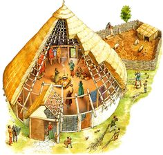SPAIN / IBERIA (Pre-Roman Spain) - Bronze Age Roundhouse
