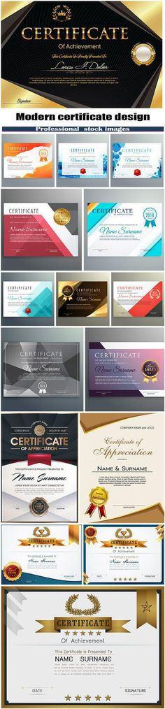 Modern certificate design Cis, Lottery Numbers, Certificate Design, Typography Design, Awards, Sketch, Graphic Design, Education, Modern