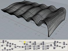 Parametric Architecture, Study Architecture, Parametric Design, Organic Architecture, Futuristic Architecture, Gymnastics Center, Rhythmic Gymnastics, Building Software, Surface Modeling