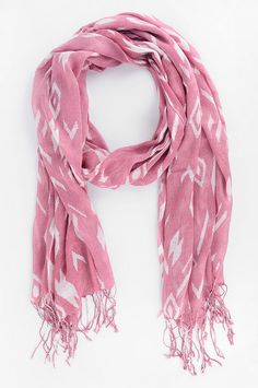 tobi floral tribal scarf - love this for my breast cancer awareness apparel.