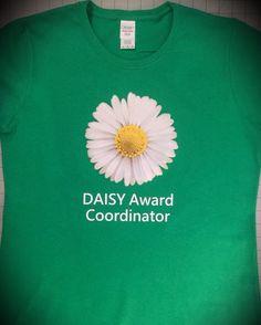 Daisy Award Coordinator Shirt - https://www.etsy.com/listing/256587435/daisy-3-dimensional-daisy-foundation