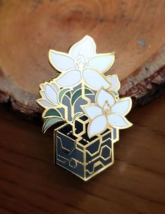 Nier: Automata Enamel Pin - Black boxes and lunar tears. - - Hard enamel - gold plated - two rubber stopper backing - contains iron - with backing card on REQUEST ONLY Jacket Pins, Cool Pins, Pin And Patches, Metal Pins, Pin Badges, Lapel Pins, Pin Collection, Nier Automata, Creations