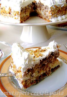 Umut Sepeti – Pratik Yemek Tarifleri – Cevizli Pasta Tarifi ( Cevizli Pandispanya Tarifi )