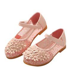 Zapatos de flores para niñas