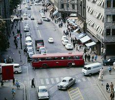 Oslo Karl Johans gate/Akersgata ca 1970 Foto Henrik Ørsted