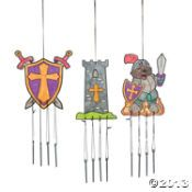 """Color Your Own """"Mighty Kingdom"""" Wind Chimes- Oriental Trading"""