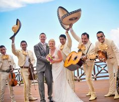 Tropical Sky Weddings clients marry at Grand Xcaret, Mexico - http://mexico.mycityportal.net
