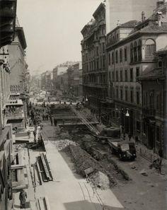 1958-1962 cantiere metro #milano