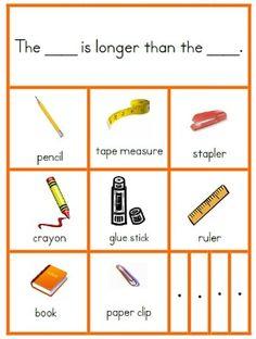 FREE Kindergarten Common Core Measurement and Data Resources