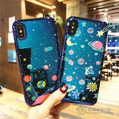 Rocket Space Laser Mirror Sparkle Soft Case Cover For Iphone X 8Plus 6S 7Plus #iphone6splus,