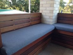 Outdoor seating using Warwick Bondi
