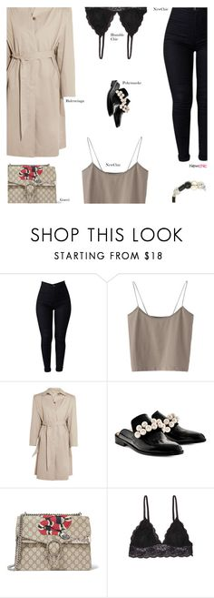 """""""NewChic"""" by s-thinks ❤ liked on Polyvore featuring Balenciaga, Pokemaoke, Gucci, Humble Chic and ootd"""