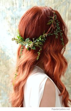 Amazing red hair bride