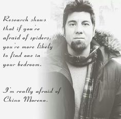 Chino Moreno of Deftones, Crosses, Team Sleep and Palms.