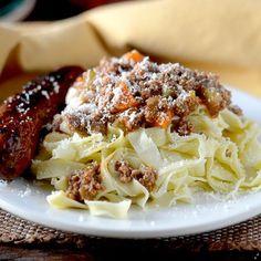 Spaghetti Chicken Ragu - Feed Your Soul Too: Spaghetti Chicken Ragu - Feed Your Soul Too