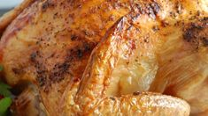 Well-seasoned chicken blasted with high cooking heat for a speedy roast that still leaves the bird moist and flavorful. Chicken Recipes Video, Roast Chicken Recipes, Recipe Chicken, Frango Chicken, Moist Chicken, Chicken Seasoning, Food Videos, Spicy, Easy Meals