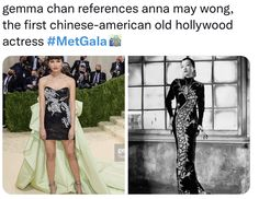 Anna May, Gemma Chan, Chinese American, Funny Times, Strapless Dress, Ballet Skirt, Actresses, Skirts, Fashion