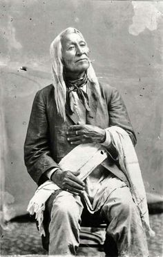 Chief Washakie of the Eastern Shoshone tribe