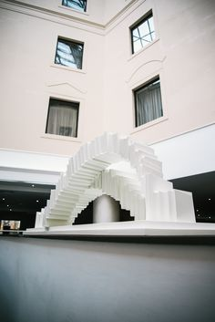 Bespoke Artwork for Hotels, Restaurants and Bars Installation Art, Clutter, Cambridge, Stairs, 3d, Interior Design, Elegant, City, Artwork